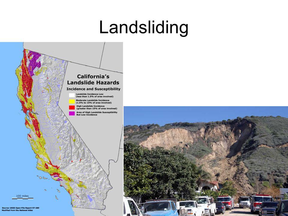 Landsliding