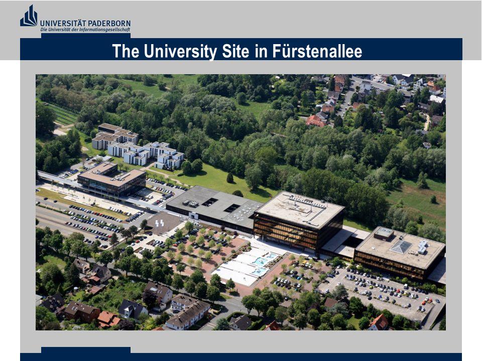 The University Site in Fürstenallee