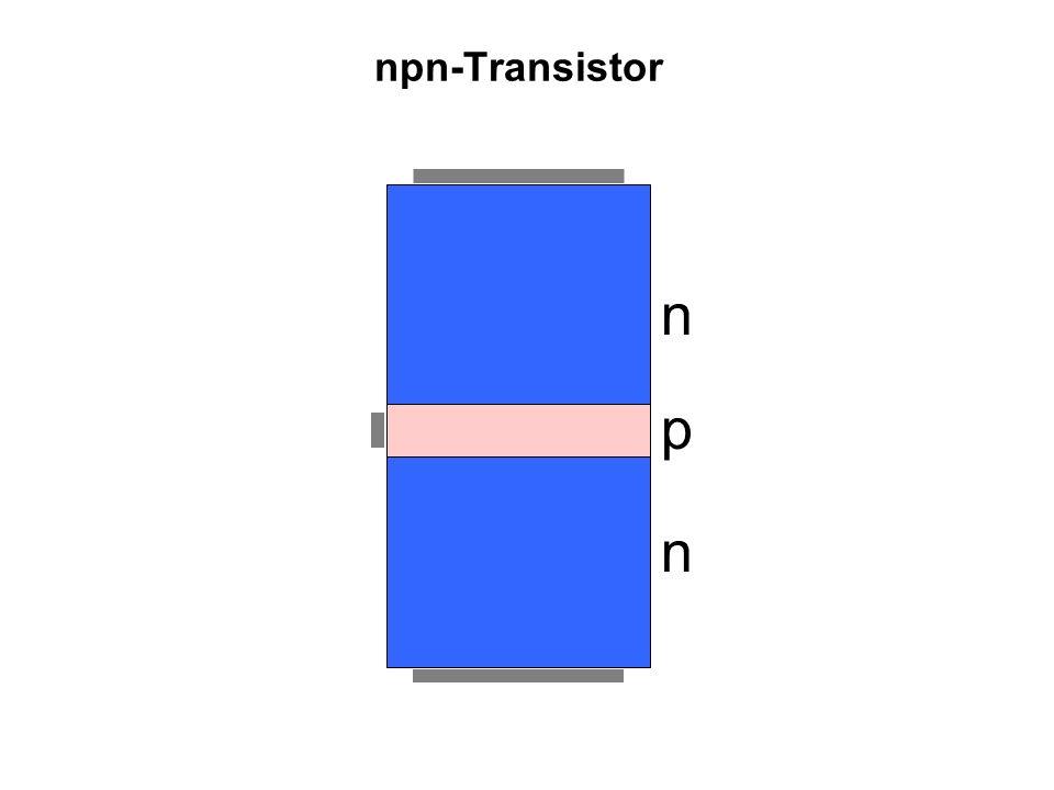 npn-Transistor p n n