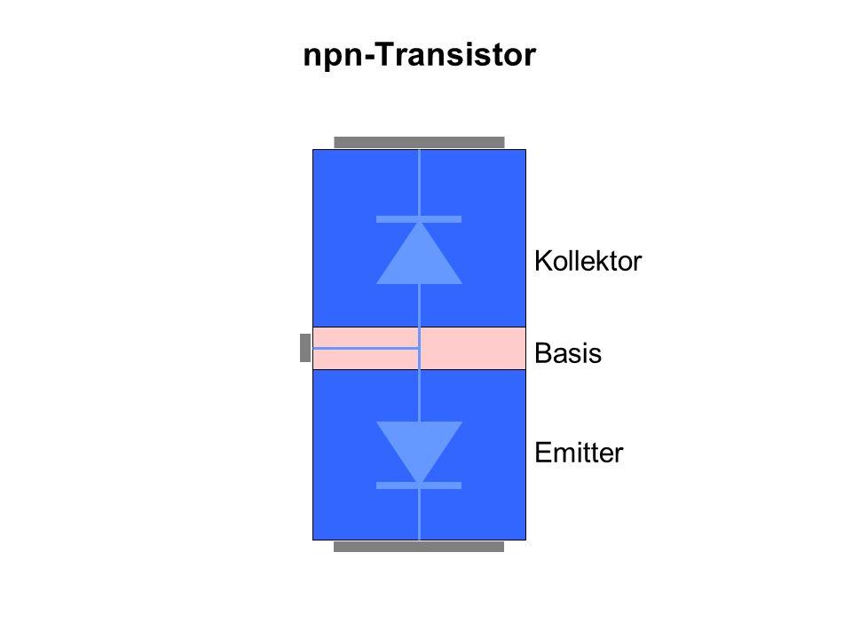 npn-Transistor Basis Kollektor Emitter