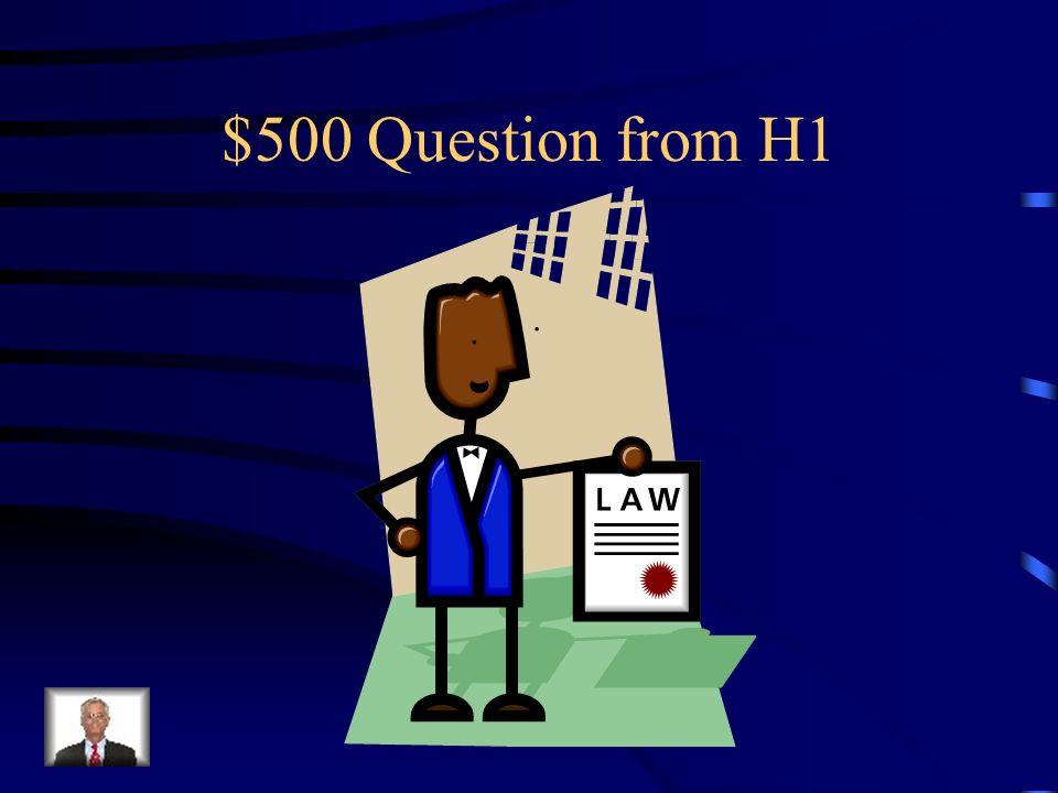 $400 Answer from H1 Was ist Der Optiker?
