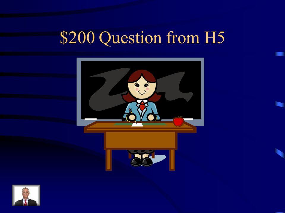 $100 Answer from H5 Was ist Die Polizistin?