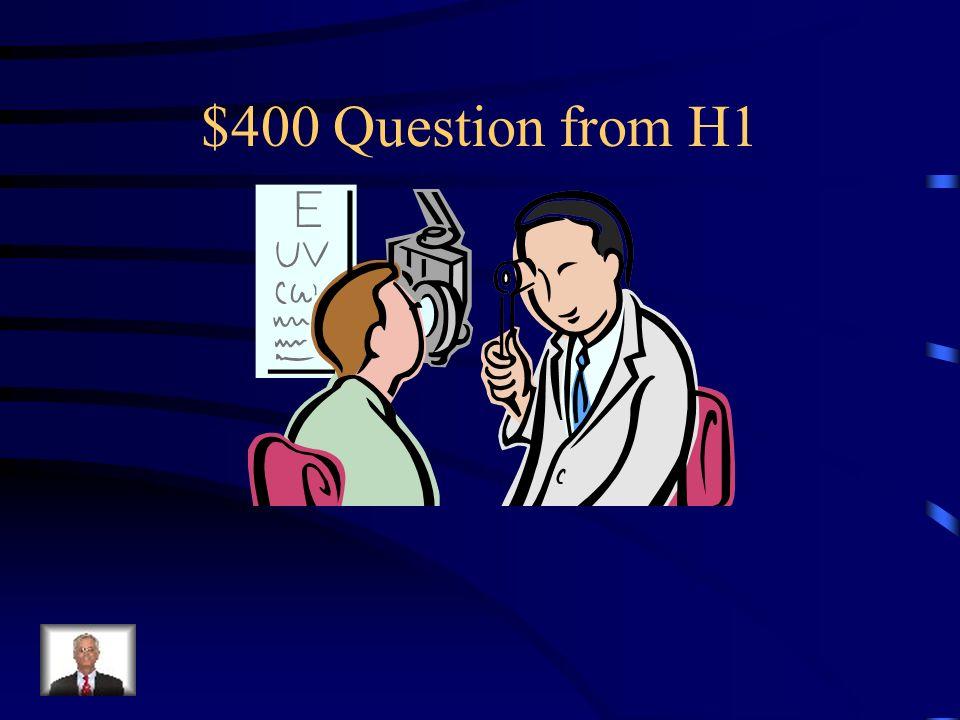 $300 Answer from H1 Was ist Der Artz?
