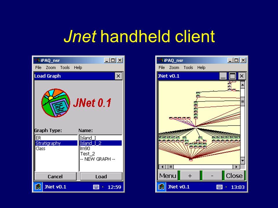 Jnet handheld client