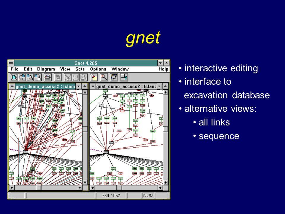 client-server configuration Graph Store Painter Graph model data base Controller Canvas JDBC Remote Database server
