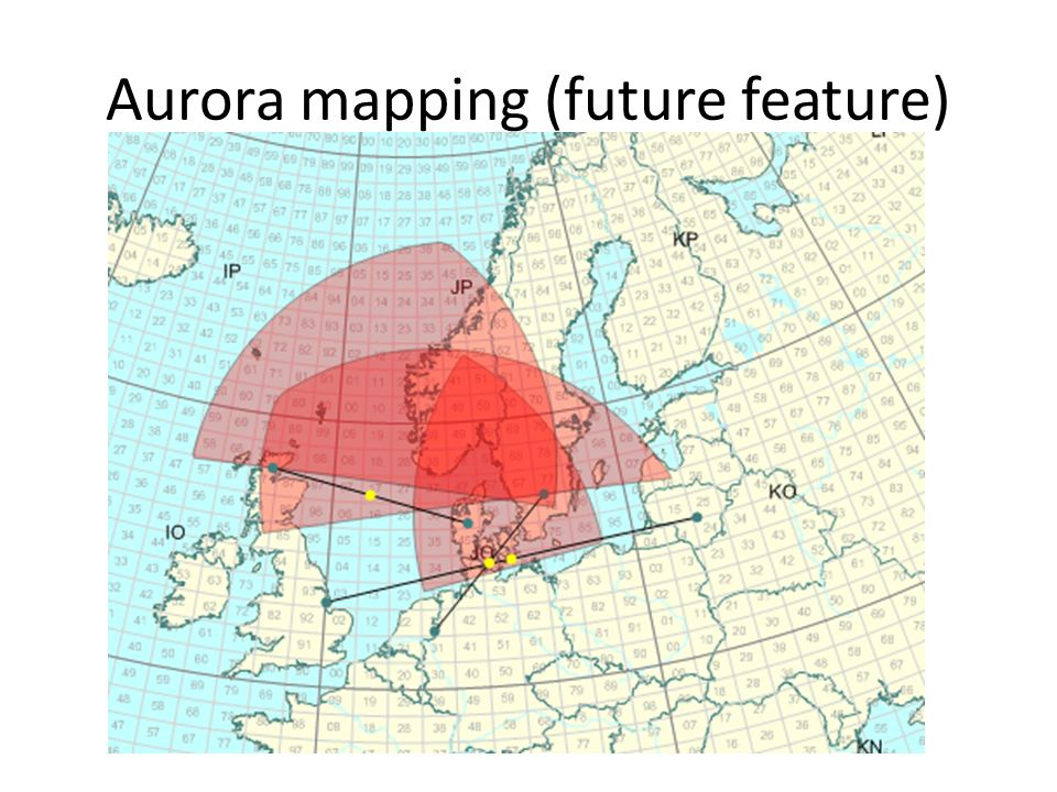 Aurora mapping (future feature)