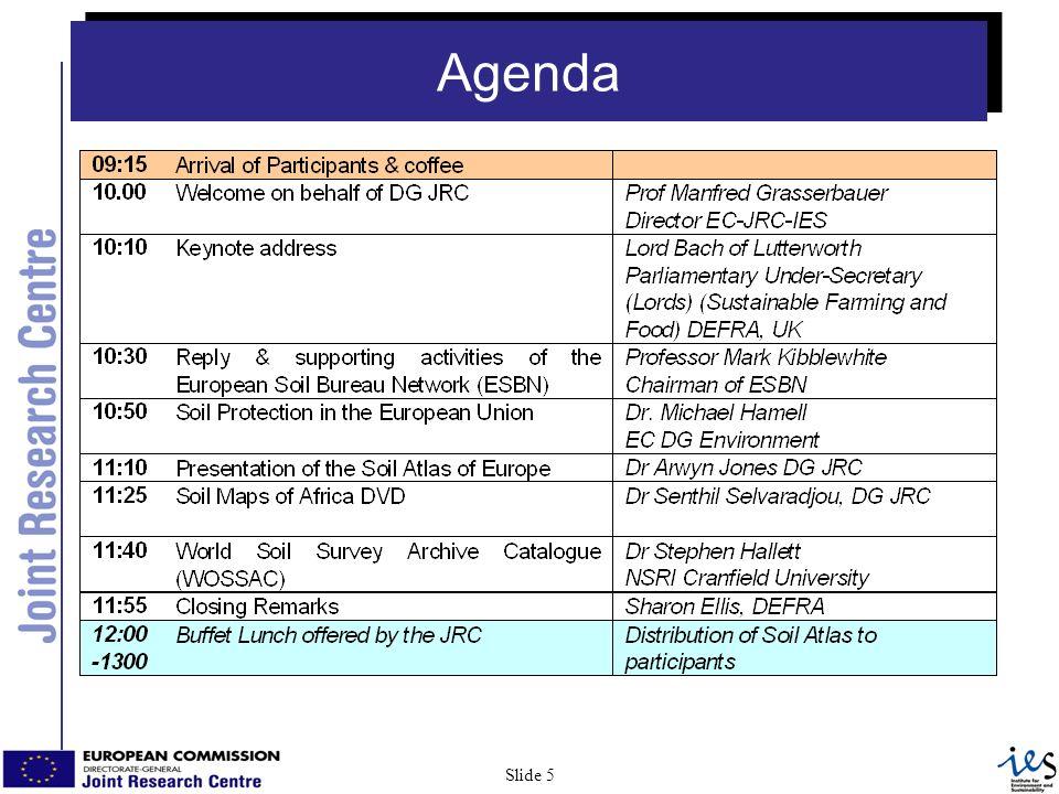 5 Slide 5 Agenda