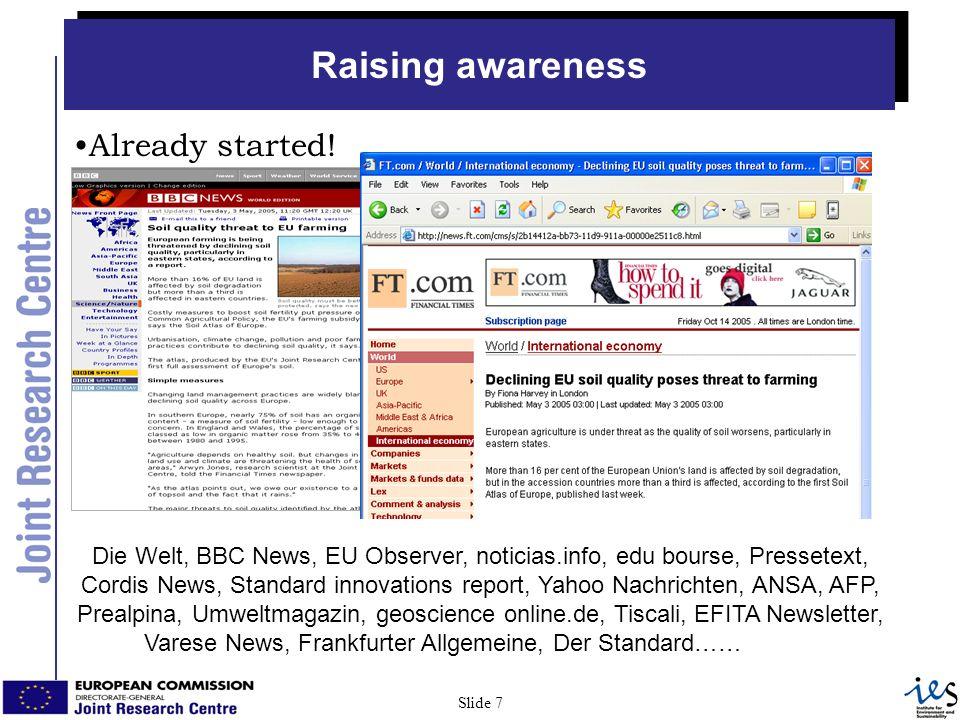 7 Slide 7 Already started.