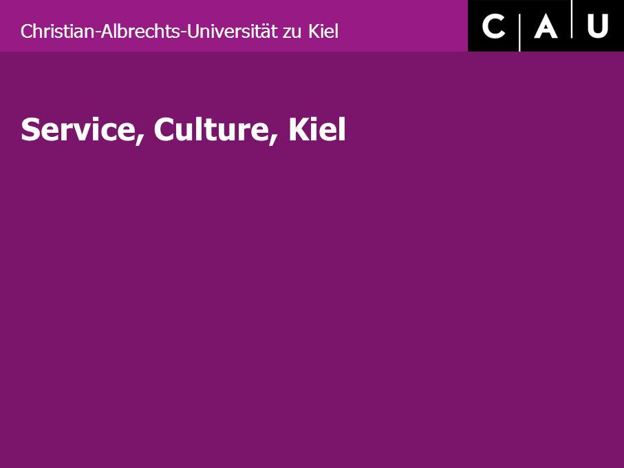 Christian-Albrechts-Universität zu Kiel Service, Culture, Kiel