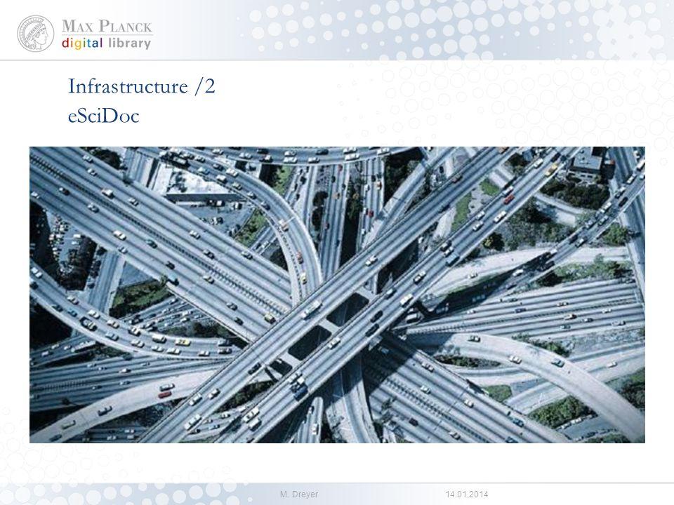 M. Dreyer14.01.2014 Infrastructure /1