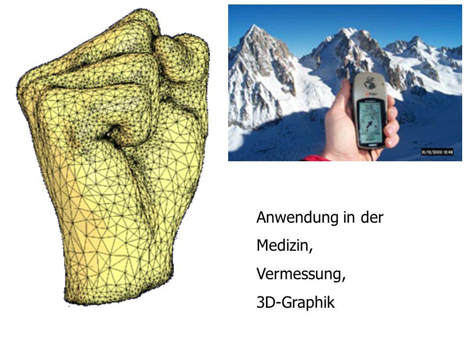 Anwendung in der Medizin, Vermessung, 3D-Graphik