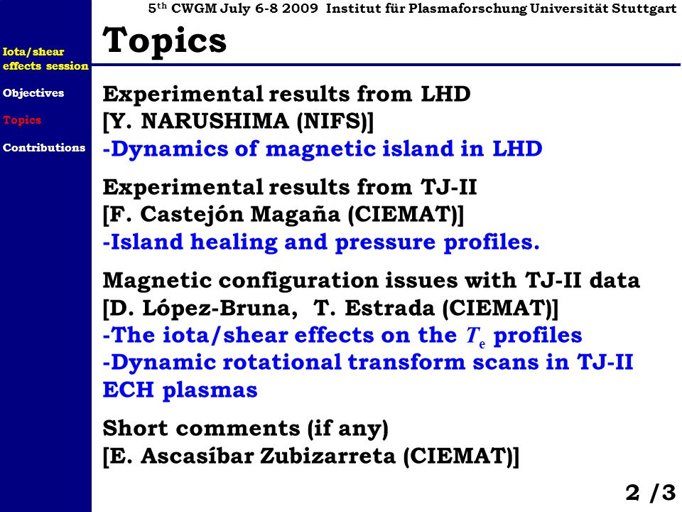 Experimental results from LHD [Y.