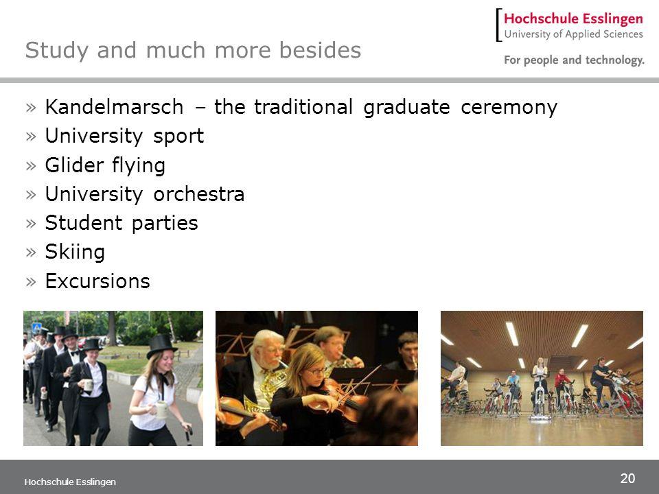 21 Hochschule Esslingen Further informations Please visit our webpage www.hs-esslingen.de/en
