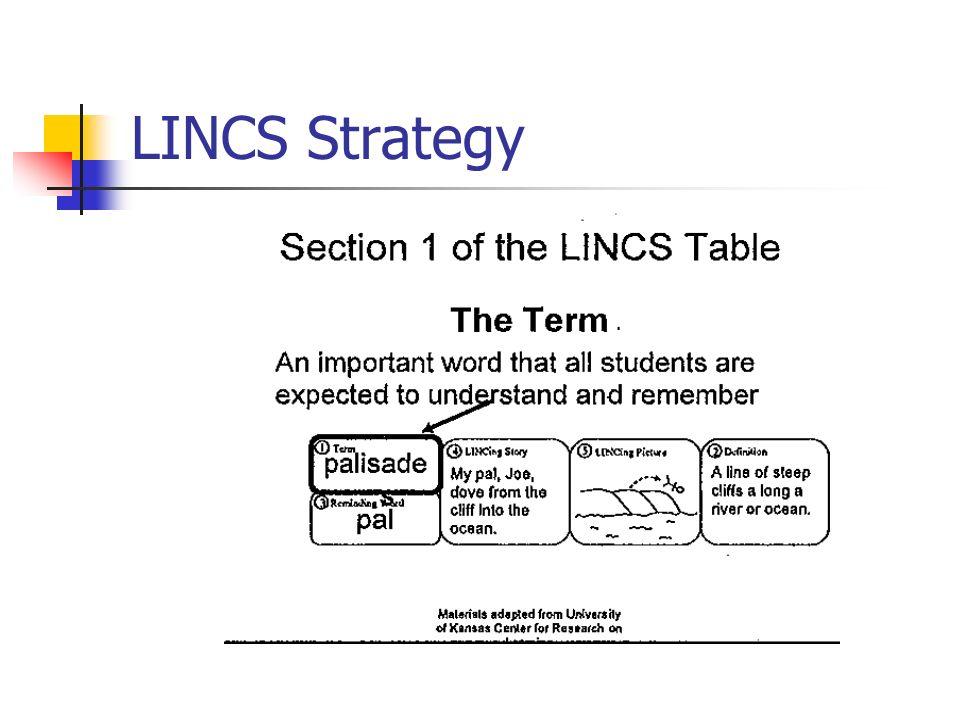 LINCS Strategy