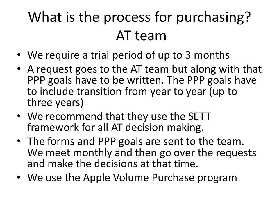 What is the process for purchasing.