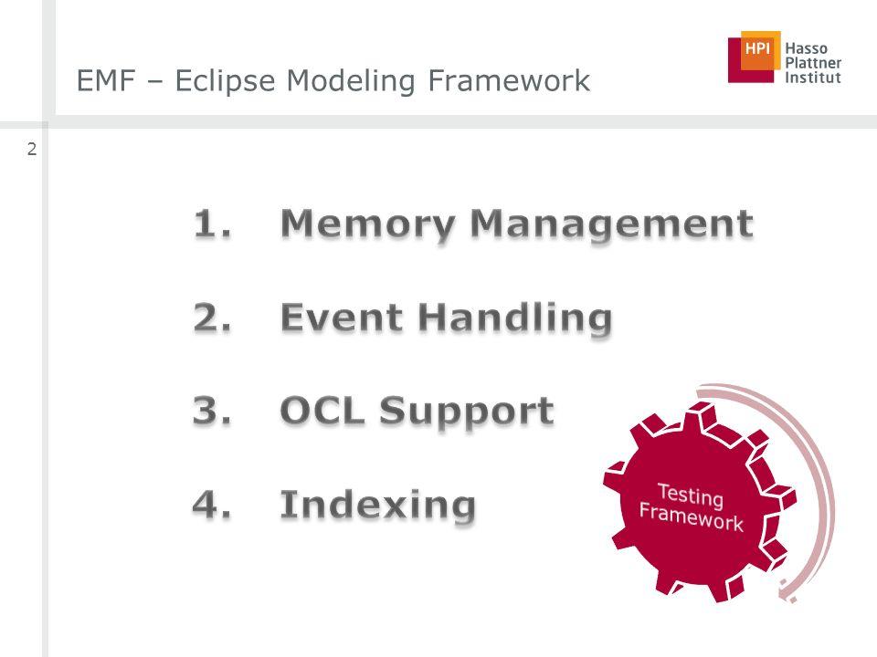 EMF – Eclipse Modeling Framework 2