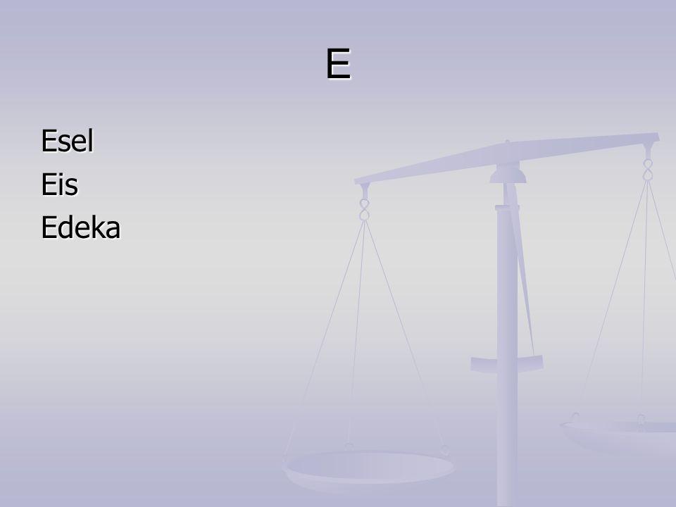 E EselEisEdeka