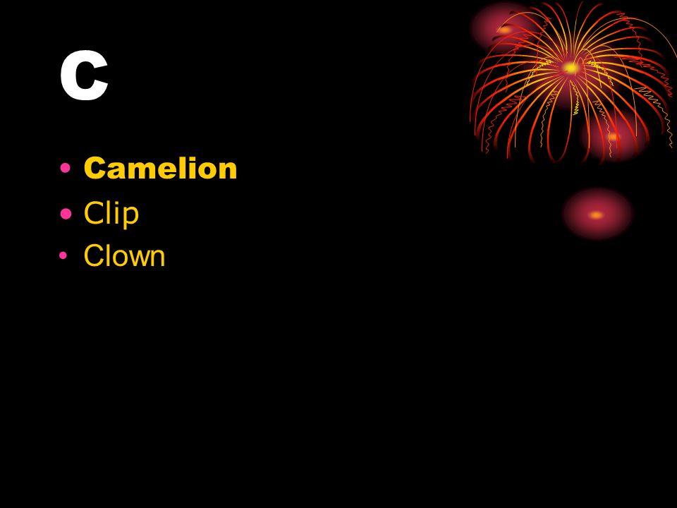 C Camelion Clip Clown