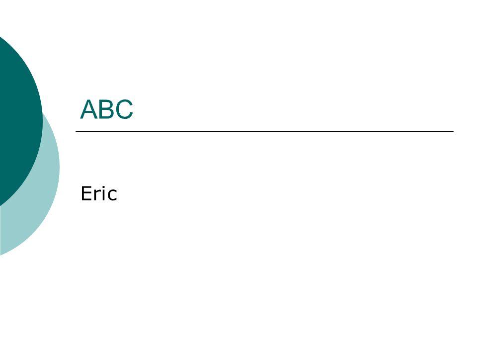 ABC Eric