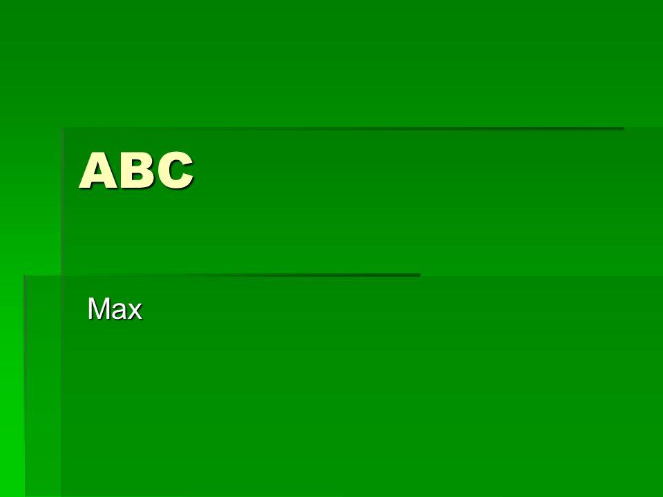 ABC Max Max