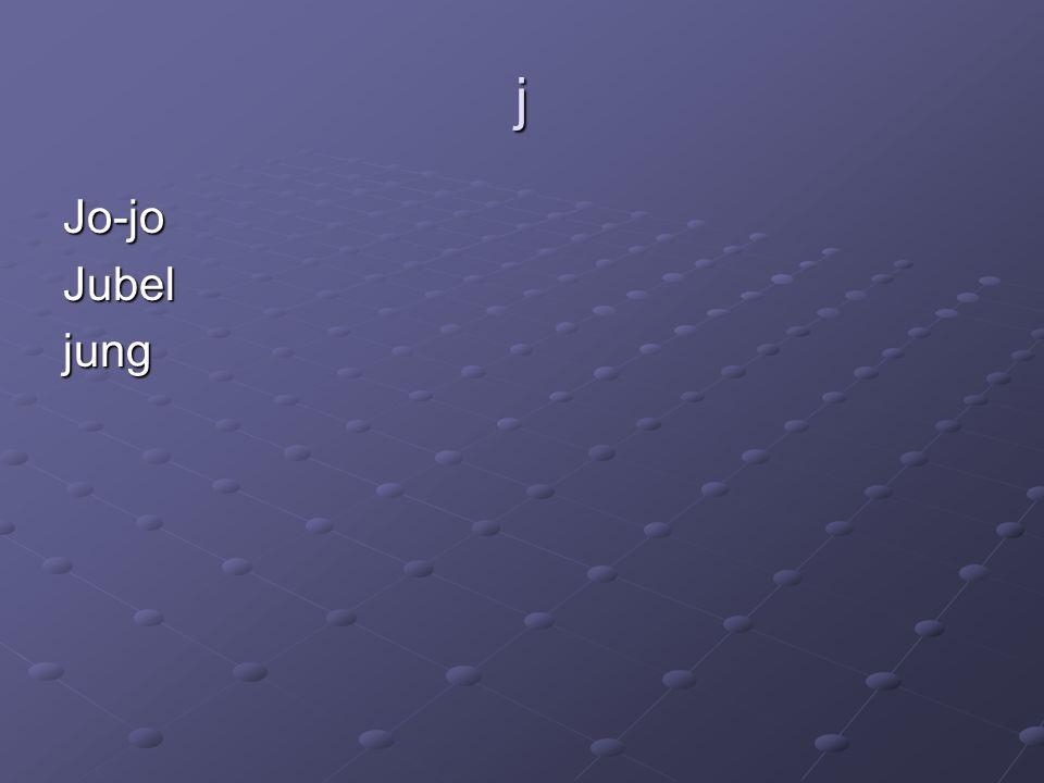 j Jo-joJubeljung