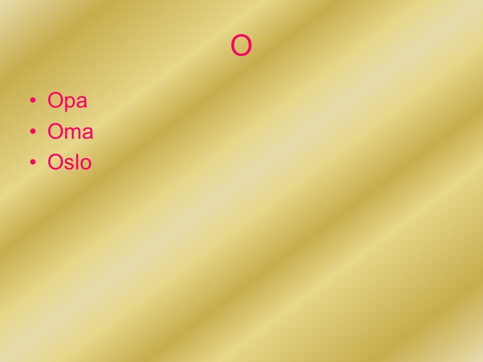 O Opa Oma Oslo