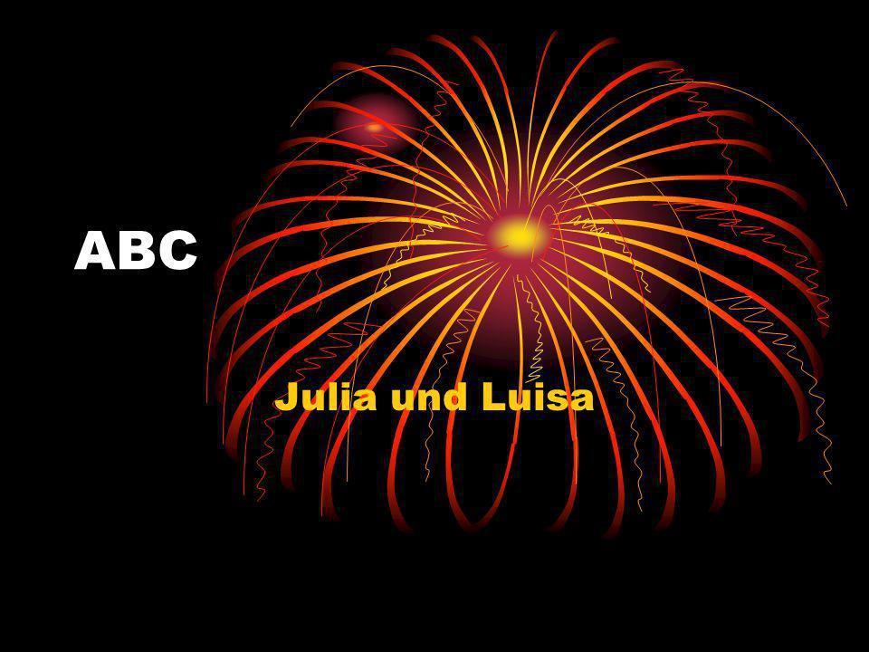 ABC Julia und Luisa