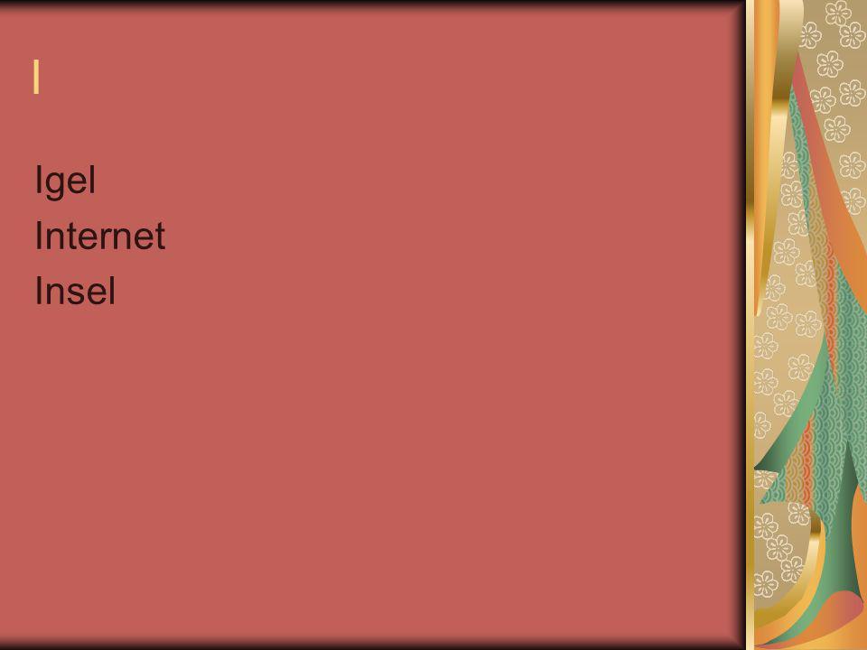 I Igel Internet Insel