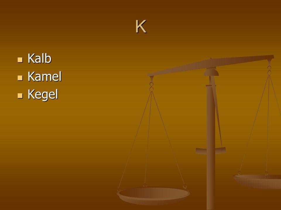 K Kalb Kalb Kamel Kamel Kegel Kegel