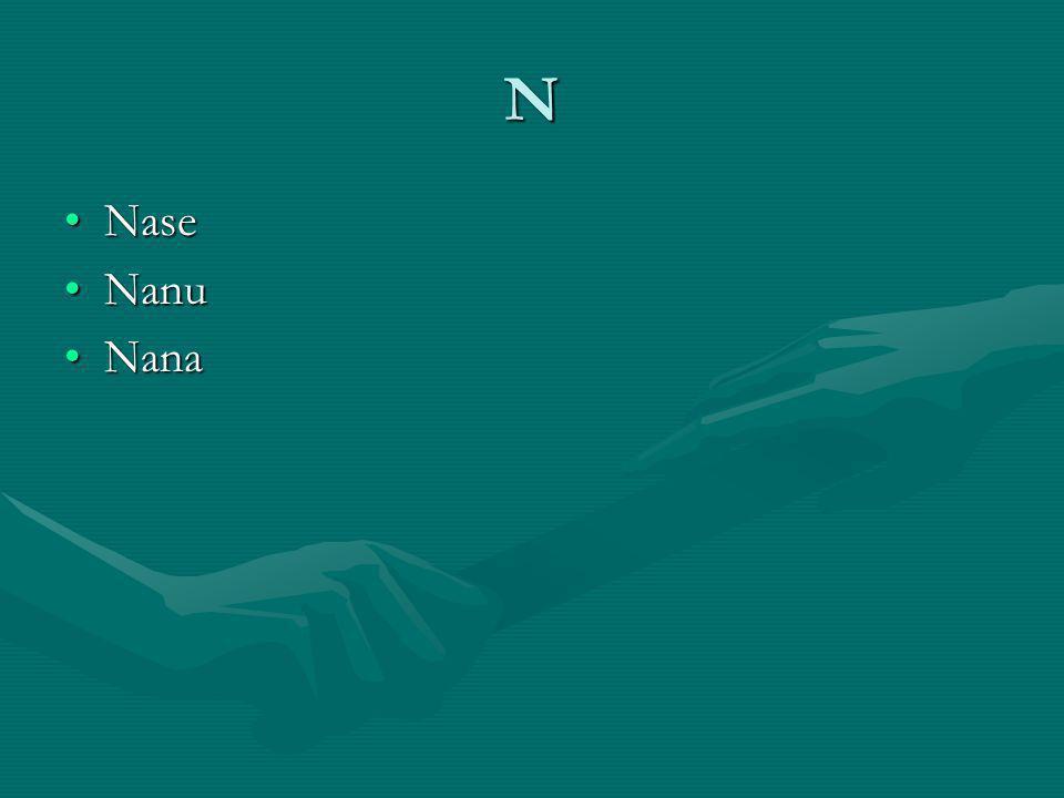 N NaseNase NanuNanu NanaNana