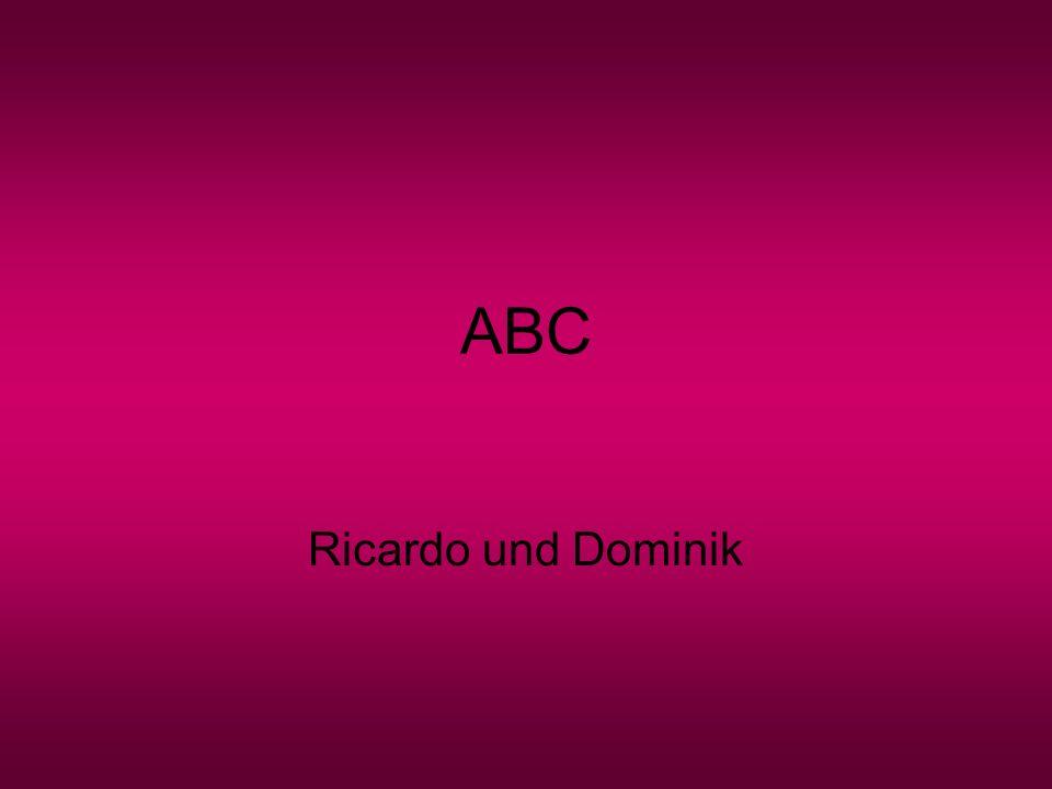 ABC Ricardo und Dominik