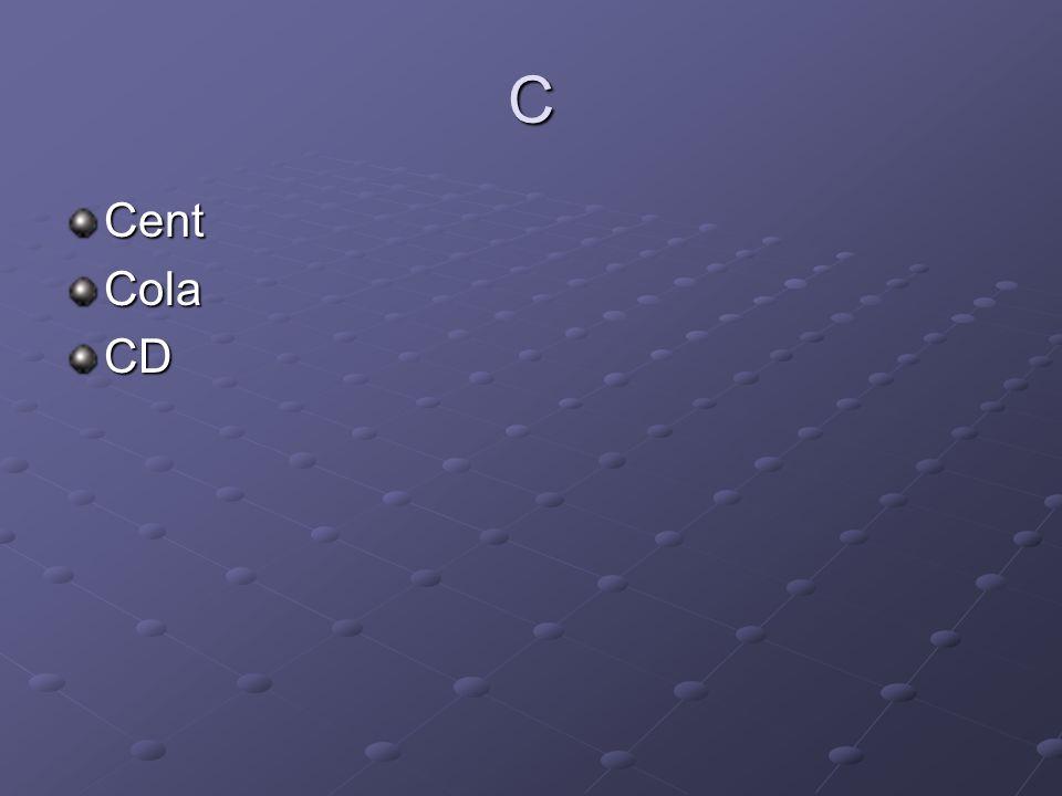 C CentColaCD