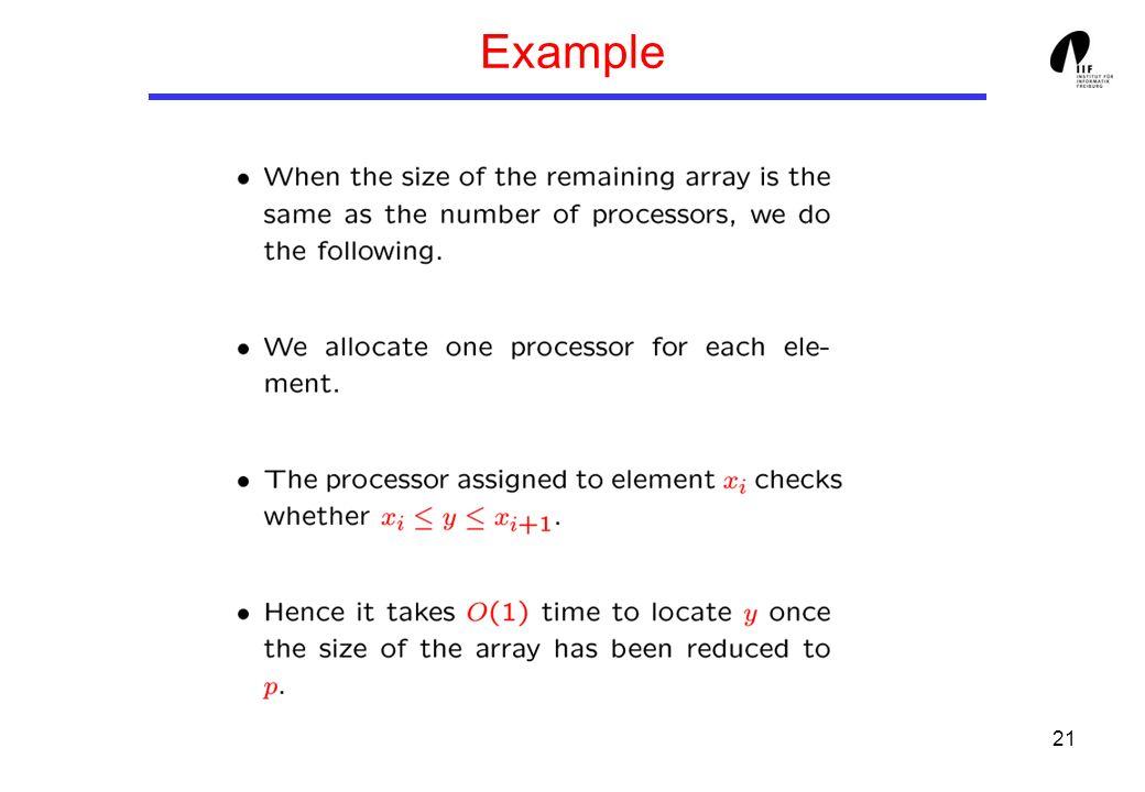 21 Example