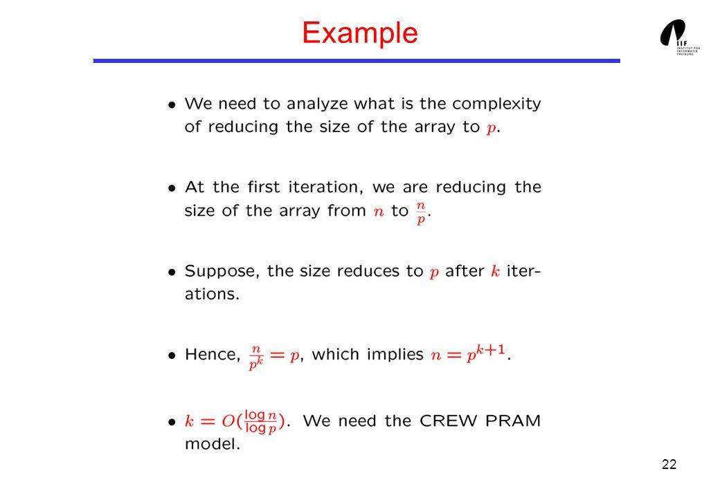 22 Example