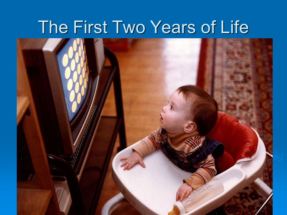 The First Two Years of Life