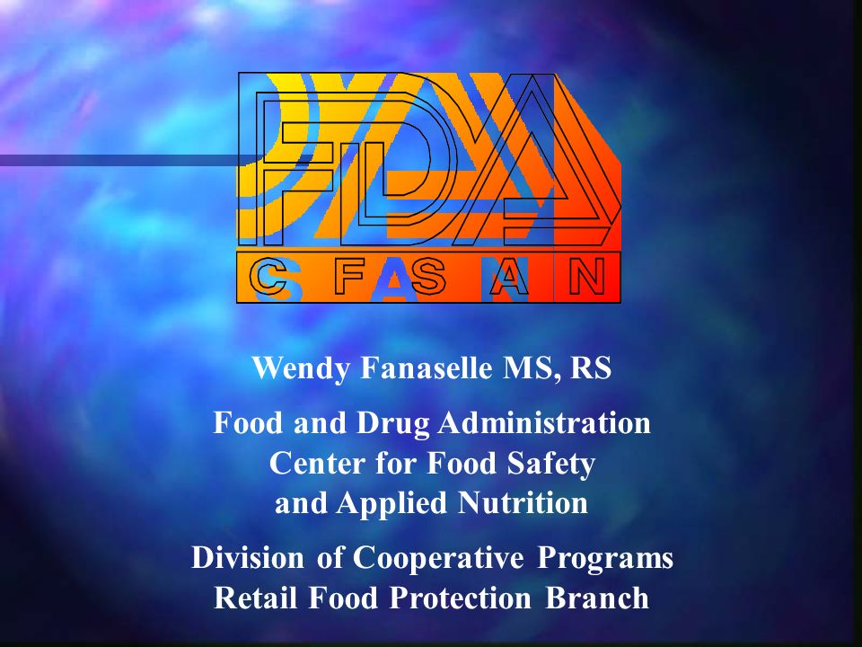 Food Code Represents FDAs Best Advice for: Uniform system of regulation; Uniform system of regulation; Safe food service through researched and recommended practices; Safe food service through researched and recommended practices; Food is properly protected, unadulterated, and honestly presented.