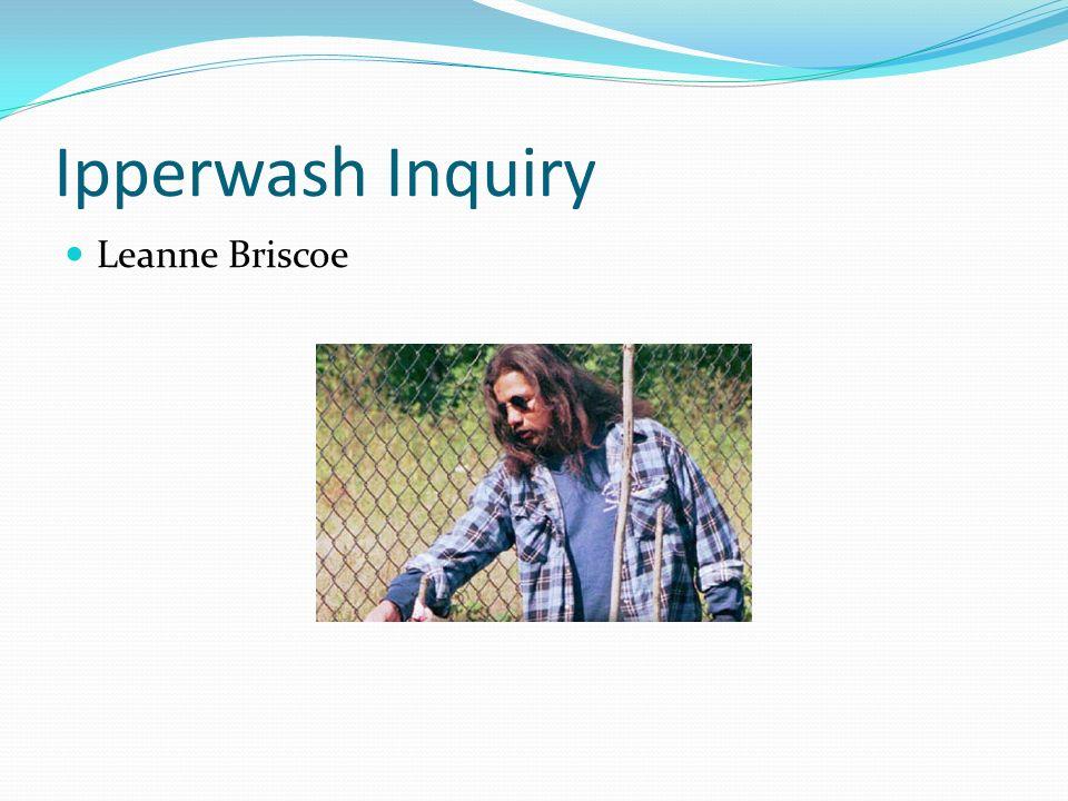 Ipperwash Inquiry Leanne Briscoe