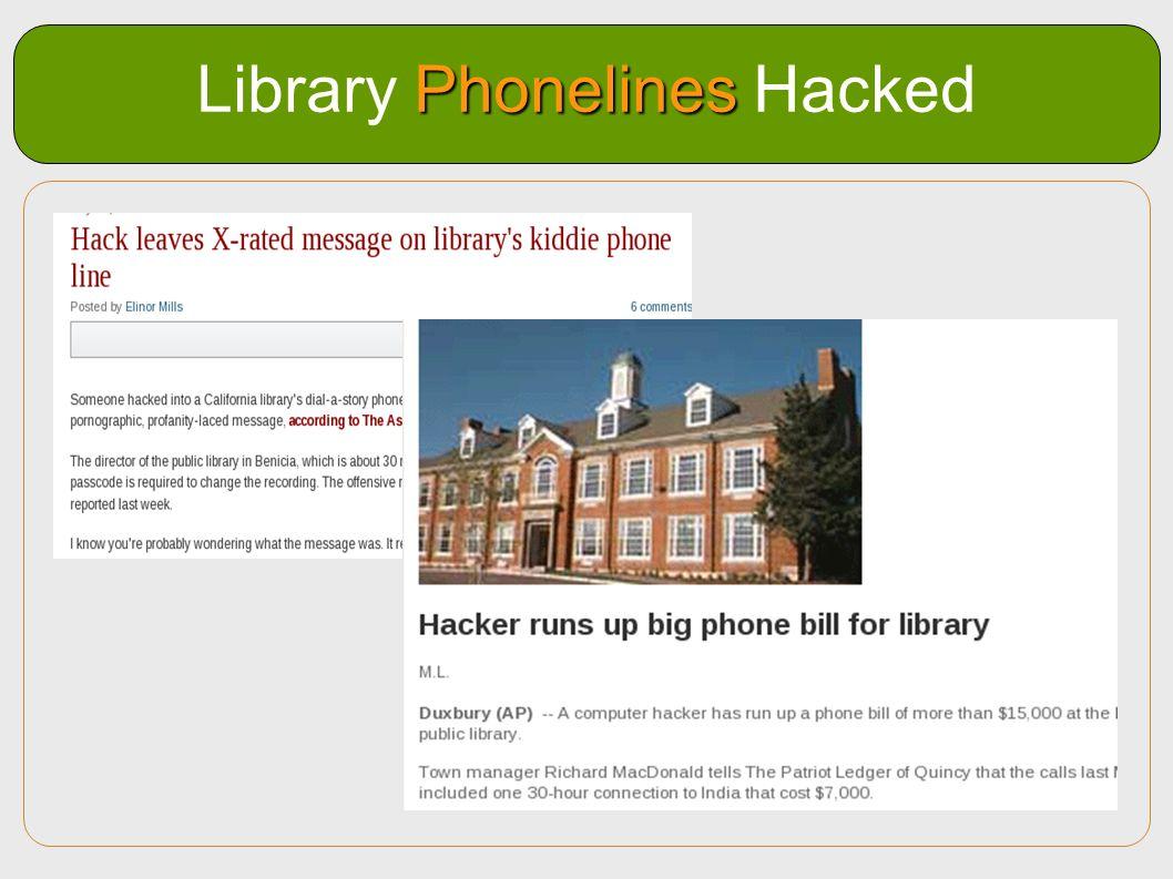 Phonelines Library Phonelines Hacked