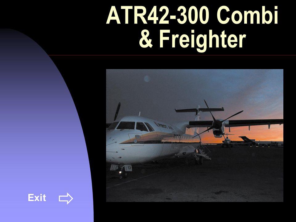ATR42-300 Combi & Freighter Exit