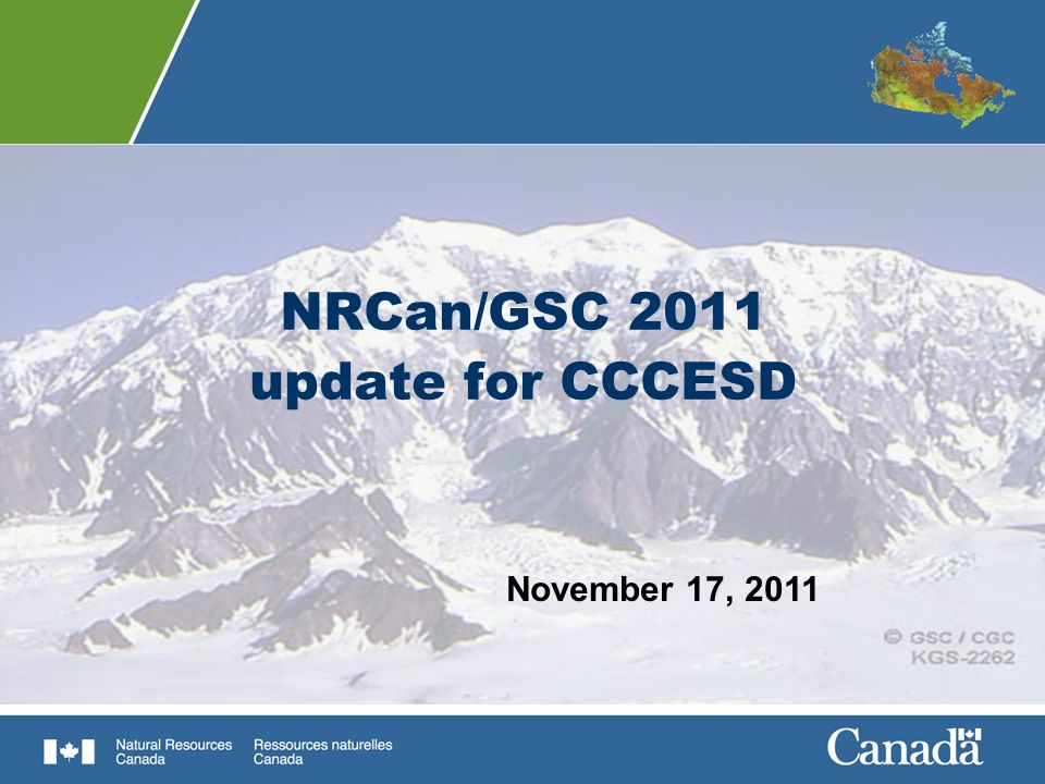 NRCans Mandate, Vision, and Strategic Outcomes … Policy and Science & Technology Improving the Performance of the Regulatory System for Project Reviews Competitive Resource Sectors Clean EnergyNuclear Issues Sustainable Development in the North Management Integrated Management ExcellenceModernizing Infrastructure and Systems Mandate Enhance the responsible development and use of Canadas natural resources and the competitiveness of Canadas natural resource products Vision Improve the quality of life of Canadians by creating a sustainable resource advantage Strategic Outcomes … to respond to economic and environmental imperatives driving the natural resource sectors