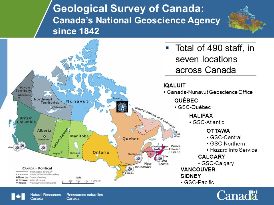 GSC: What We Do …NRCAN PRIORITIESGSC CONTRIBUTIONS TO….