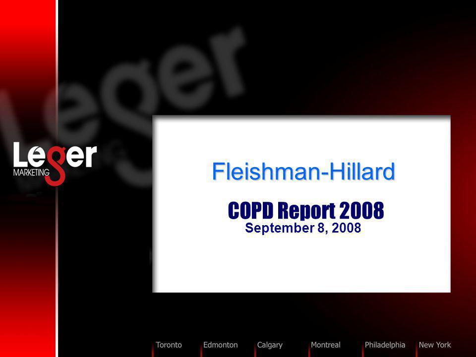 Fleishman-Hillard Fleishman-Hillard COPD Report 2008 September 8, 2008