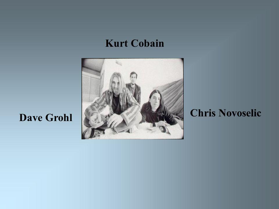 Kurt Cobain Dave Grohl Chris Novoselic