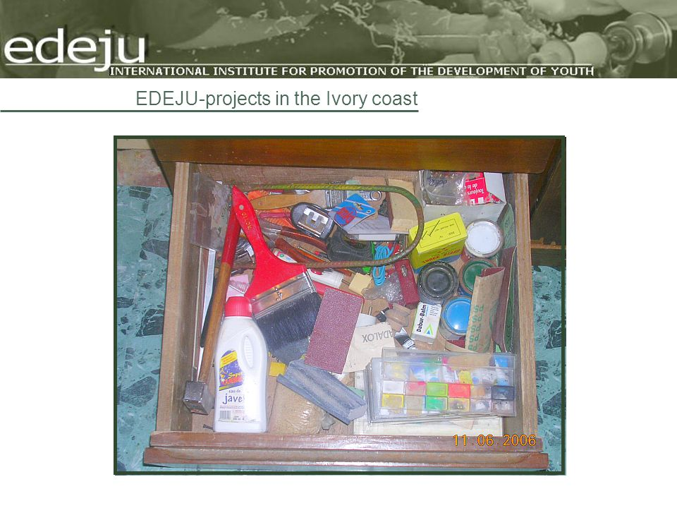 EDEJU-projects in the Ivory coast