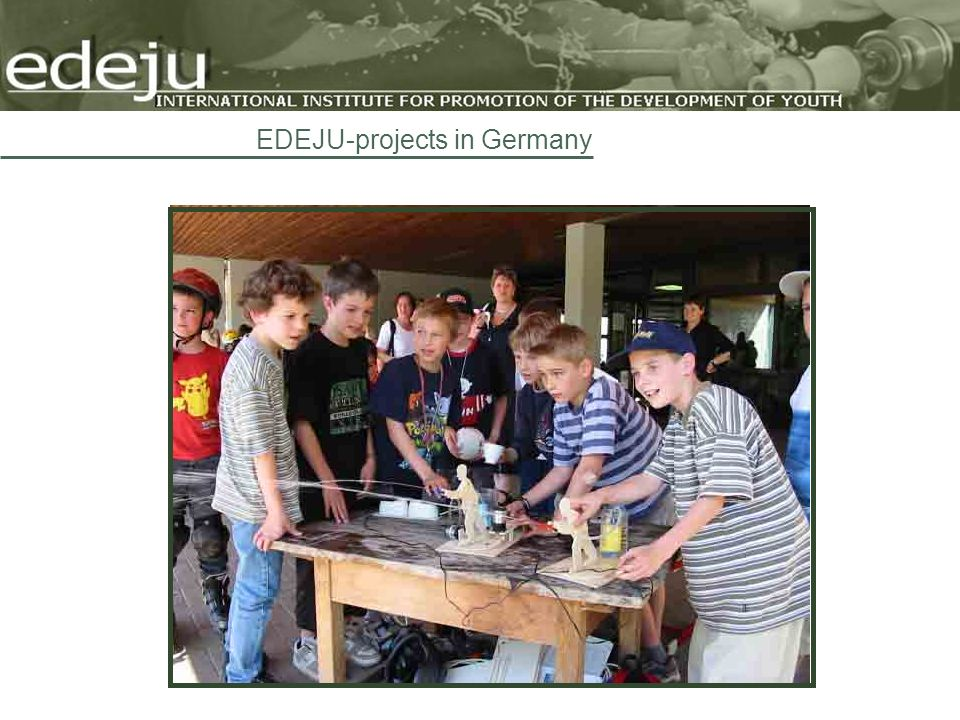 EDEJU-projects in Germany