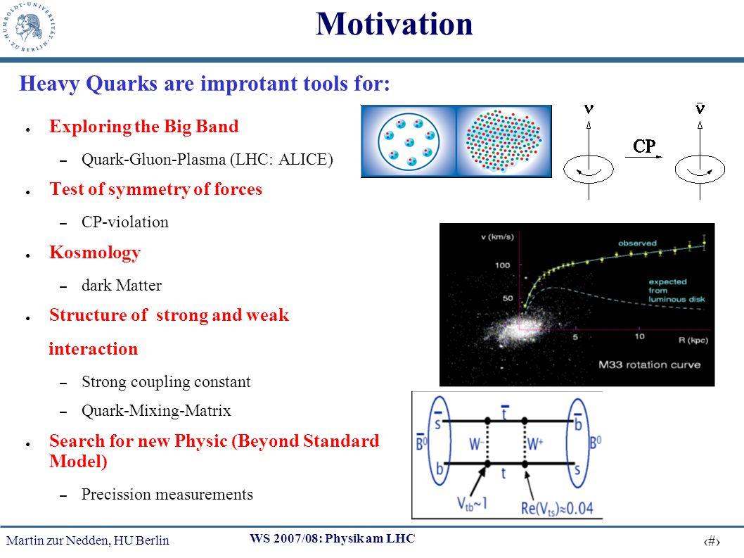Martin zur Nedden, HU Berlin 13 WS 2007/08: Physik am LHC b production-cross section at TEVATRON