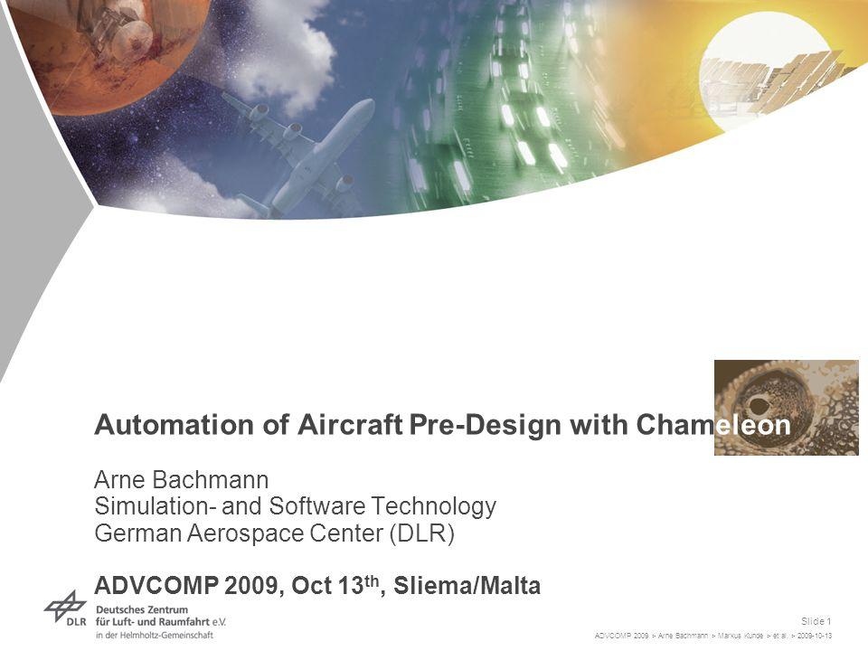 ADVCOMP 2009 > Arne Bachmann > Markus Kunde > et al.