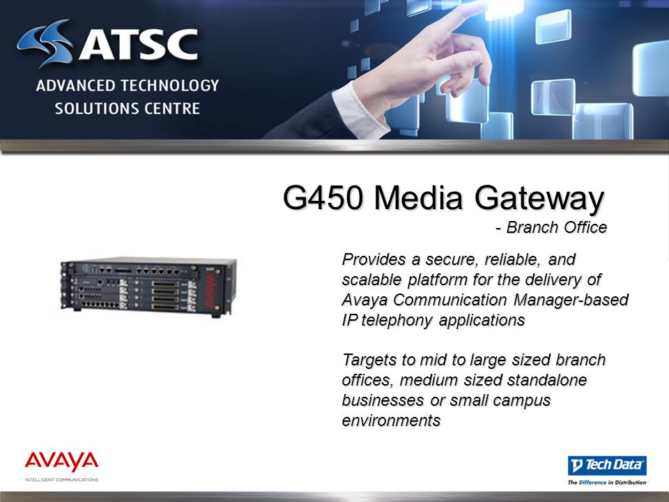 Provides a secure, reliable, and scalable platform for the delivery of Avaya Communication Manager-based IP telephony applications Targets to mid to l