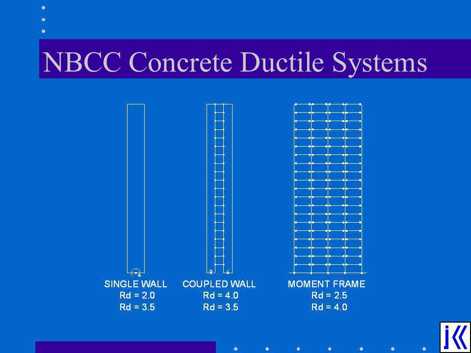 NBCC Concrete Ductile Systems