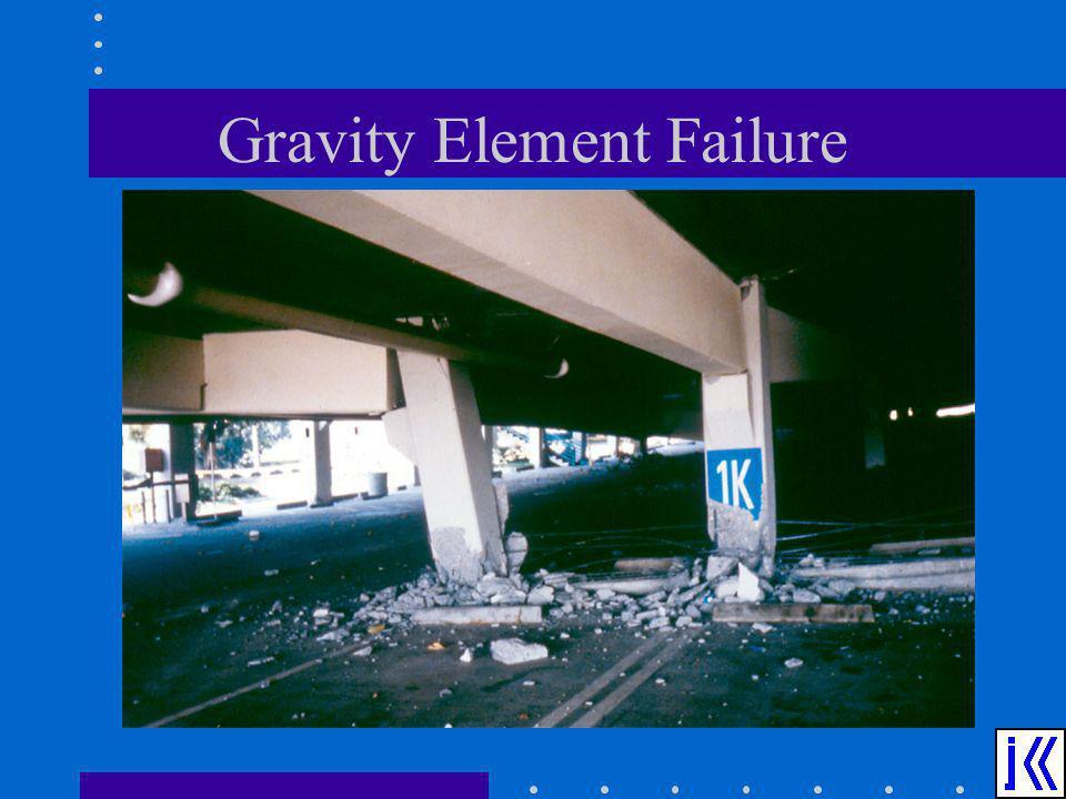 Gravity Element Failure